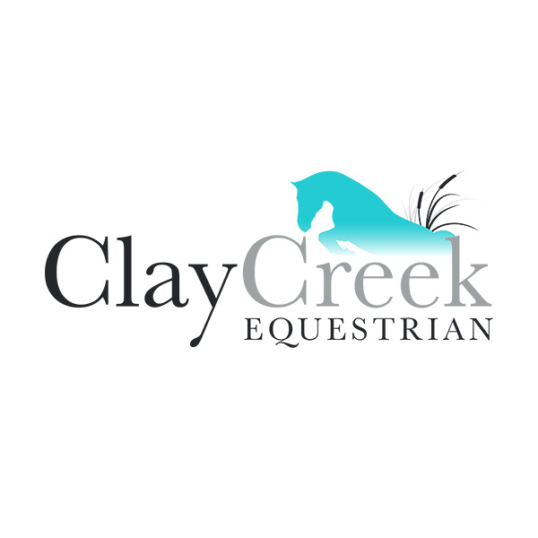 Clay Creek Equestrian Logo - Brandon, Manitoba, by Reaxion Graphics