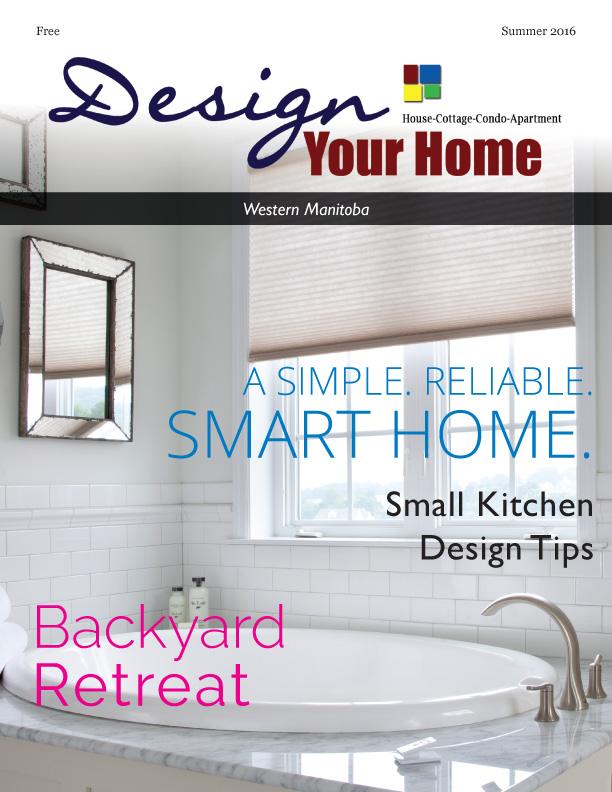 Magazine Cover / layout - Print Design, Reaxion Graphics - Design Your Home Magazine