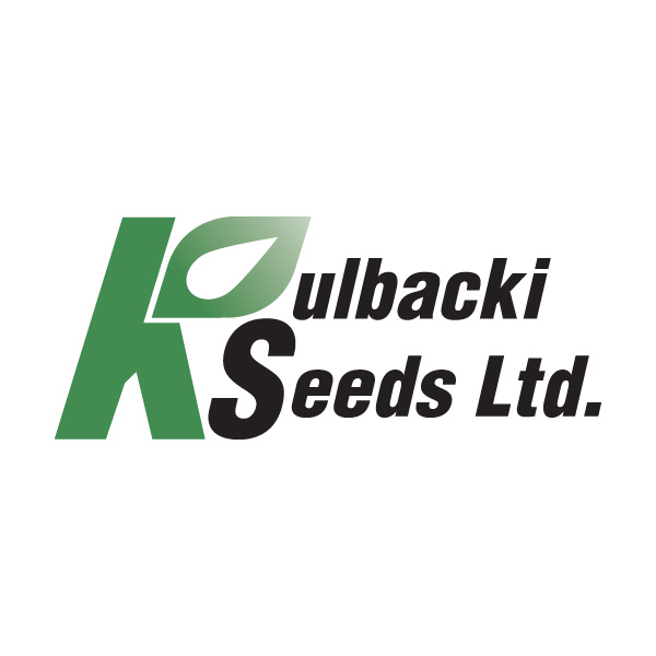 Kulbacki Seeds Ltd. logo, Neepawa, Manitoba, by Reaxion Graphics