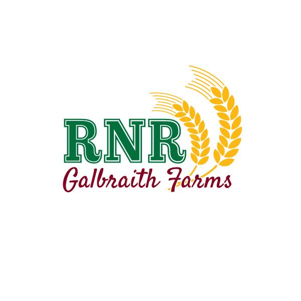 RNR Galbraith Farms Logo, Minnedosa, Manitoba, by Reaxion Graphics