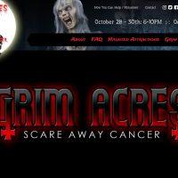 Grim Acres website, Brandon, Manitoba