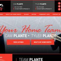 Team Plante Website - Tyler Plante - Cam Plante - Royal LePage, Brandon