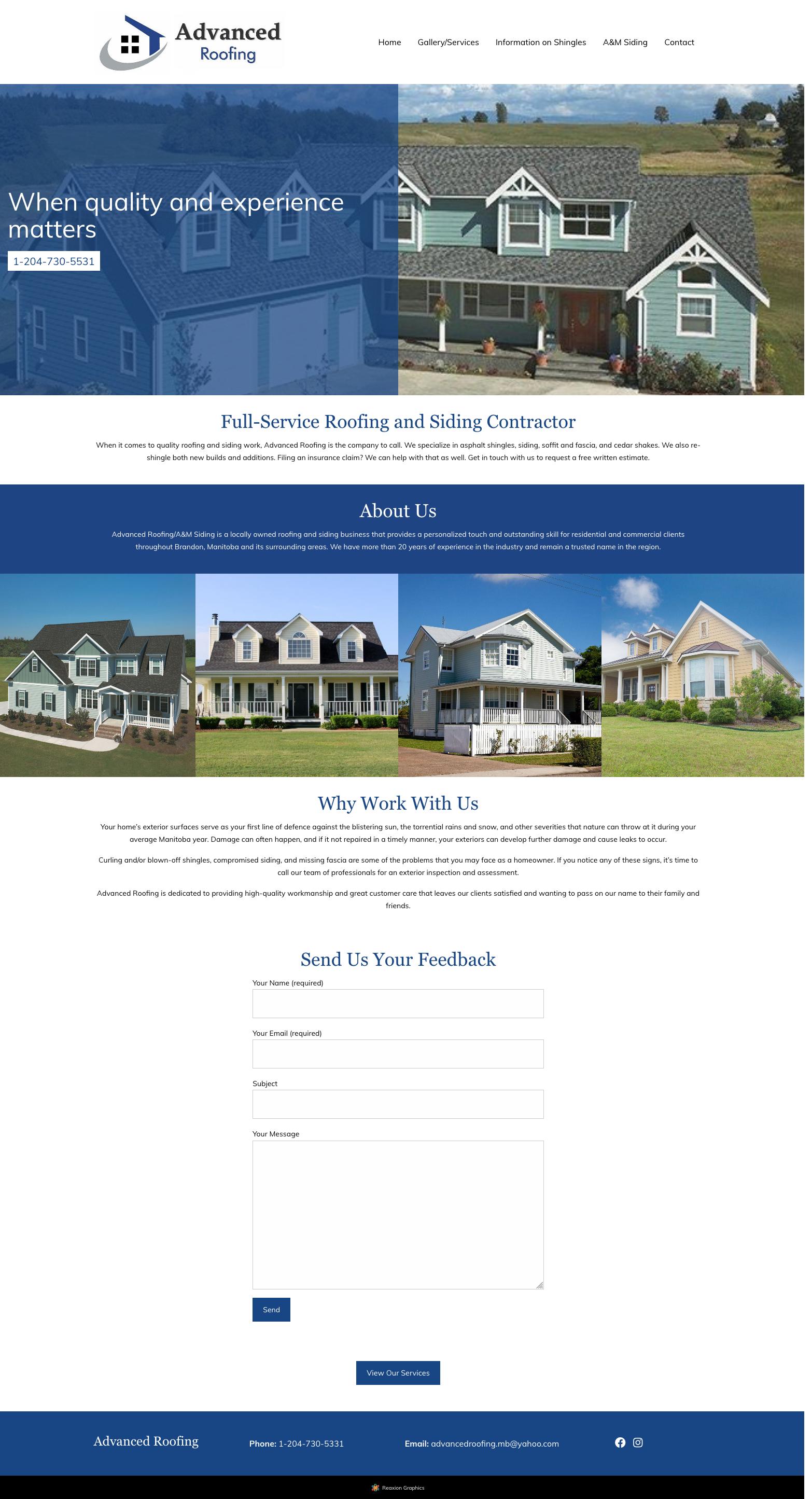 Reaxion Graphics | Brandon Websites | Brandon Manitoba Web ...